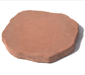 Riccobene Mesa Irregular Round - Sandy Creek Color