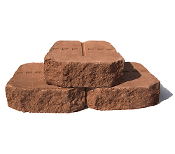 Riccobene Notchstone - Retaining Wall Block - Adobe Color