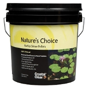 Nature's Choice Barley Pellets by CrystalClear - 5 lb Pail