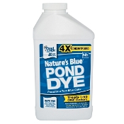 Nature's Blue Pond Dye by Pond Logic - 1 Quart Bottle