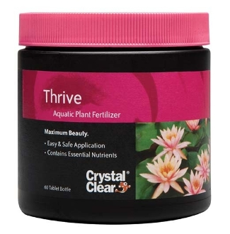 Thrive Aquatic Plant Fertilizer by CrystalClear - 60 Tab Bottle
