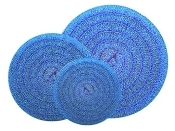 "Matala Blue Filter Mat 22"" Diameter Round"