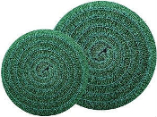 "Matala Green Filter Mat 22"" Diameter Round"