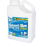 Nature's Blue Pond Dye PLUS by Pond Logic - 1 Gallon Bottle