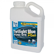 Twilight Blue Pond Dye PLUS by Pond Logic - 1 Gallon Bottle